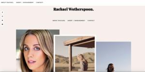 Rachael website