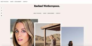 Rachael's website